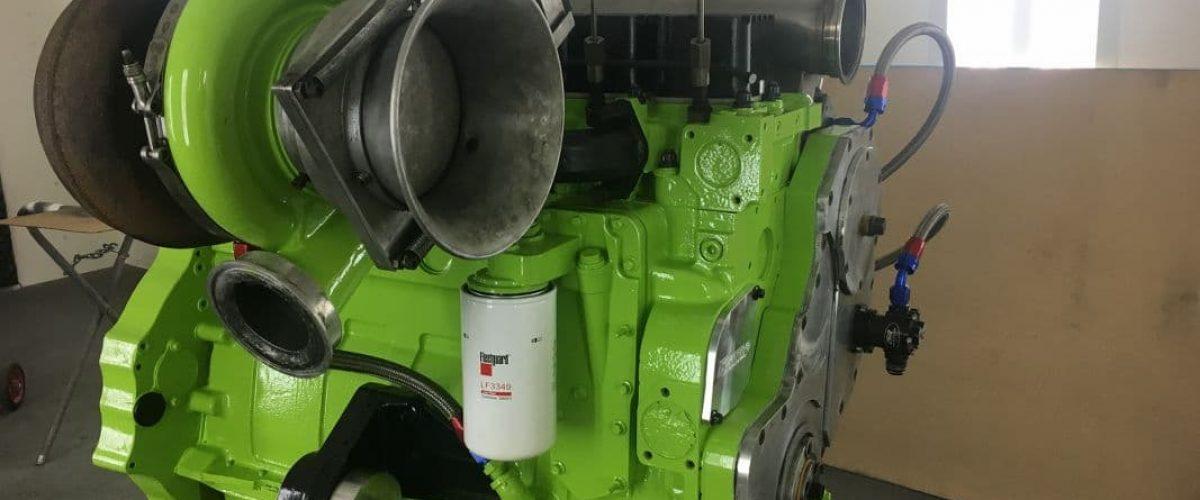 1300 Horse Power Diesel Sled Pulling Engine Rebuild